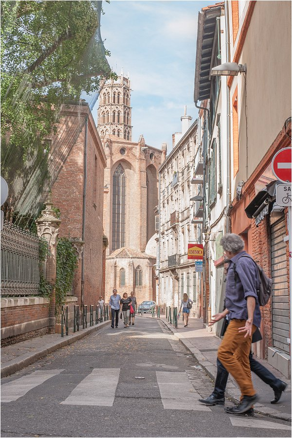 walking tour Toulouse