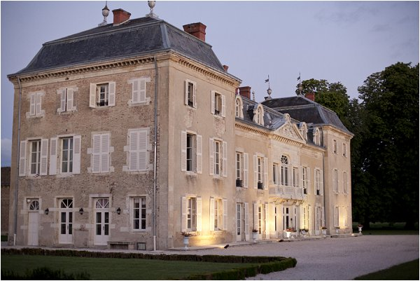 wedding chateau Burgundy