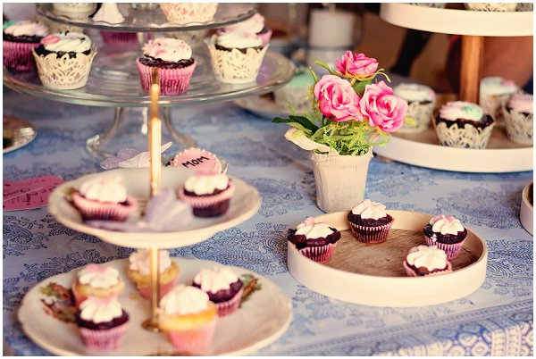 wedding day cupcakes