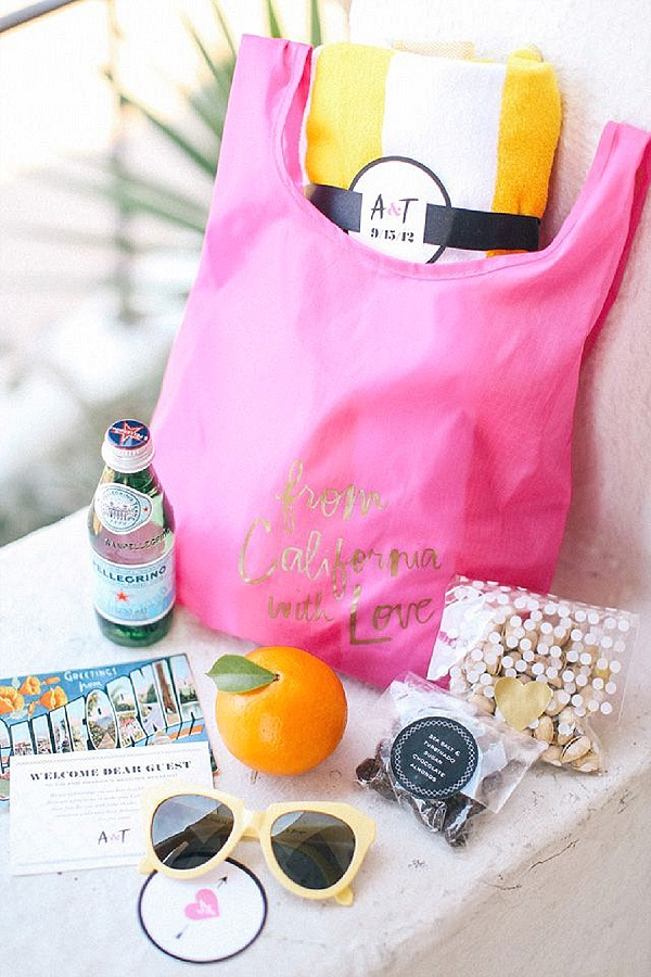 wedding guest welcome kit