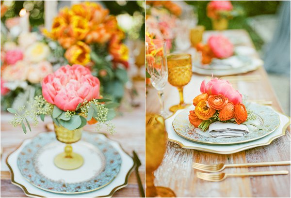 wedding table for spring