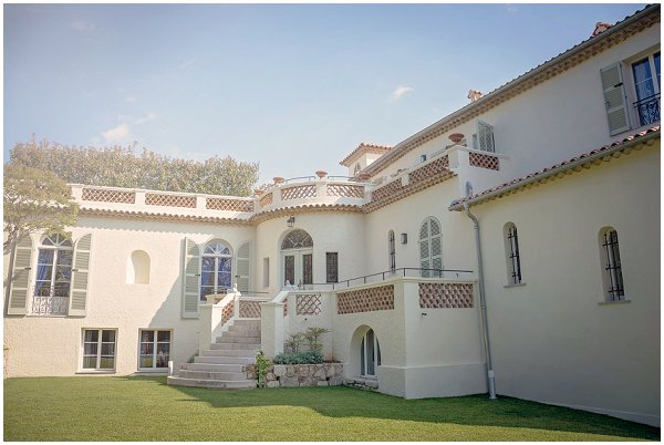 wedding villa in antibes