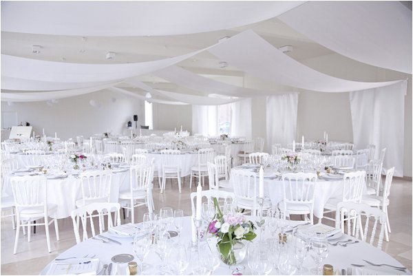 white wedding marquee ideas