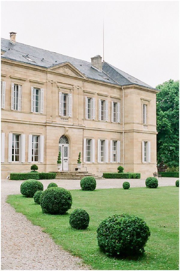 Chateau La Durantie wedding