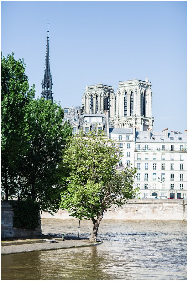 Paris in summer