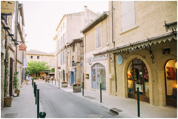 Shopping in Lourmarin
