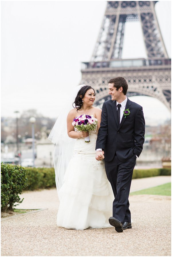 elopement packages in Paris