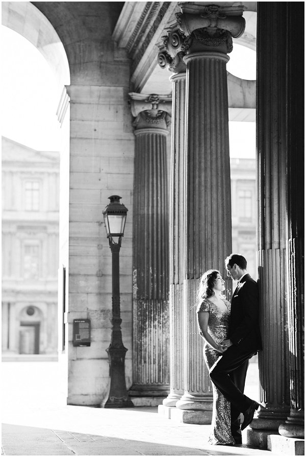 engagement portraits in paris