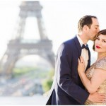 engagement session on Paris