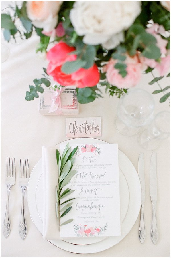 fine art wedding table ideas