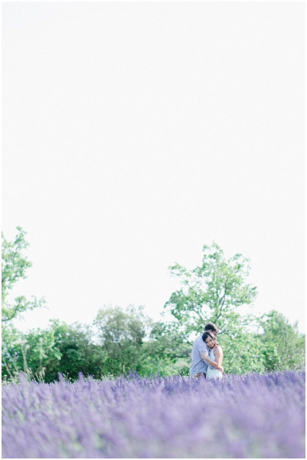 lavender field engagement