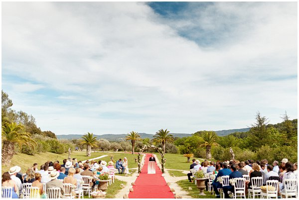 luxury wedding in Provence