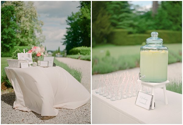 pastel weddng decorations