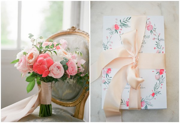 pink inspired wedding decorations