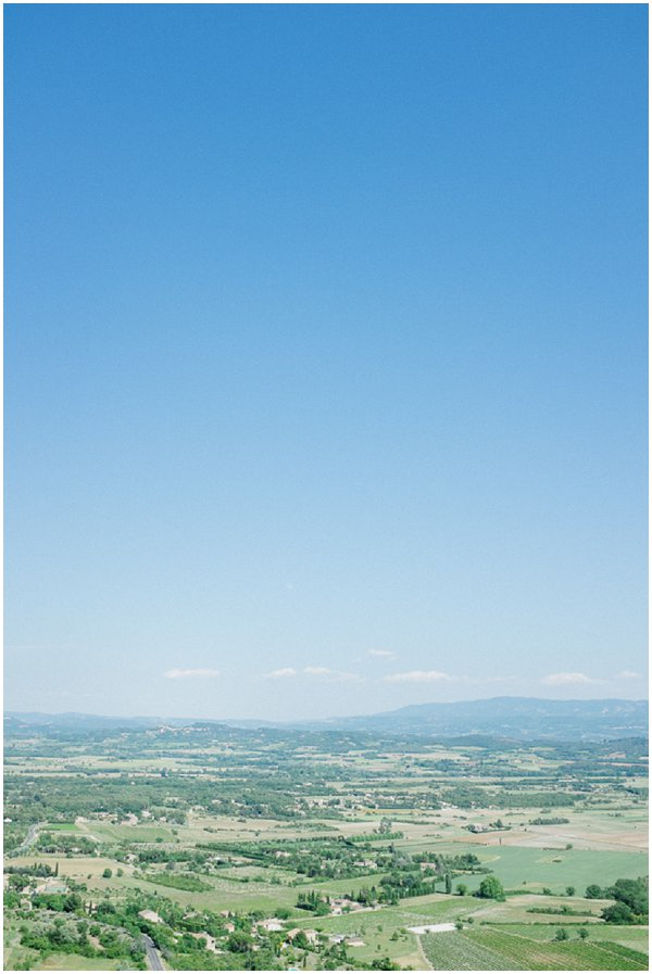 view from Gordes Provence