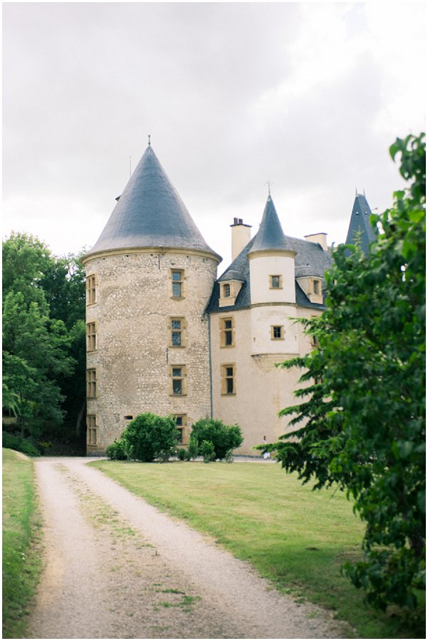 Fairytale chateau in France