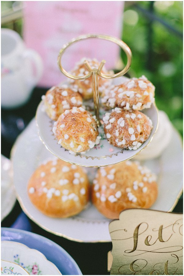 French wedding pastries