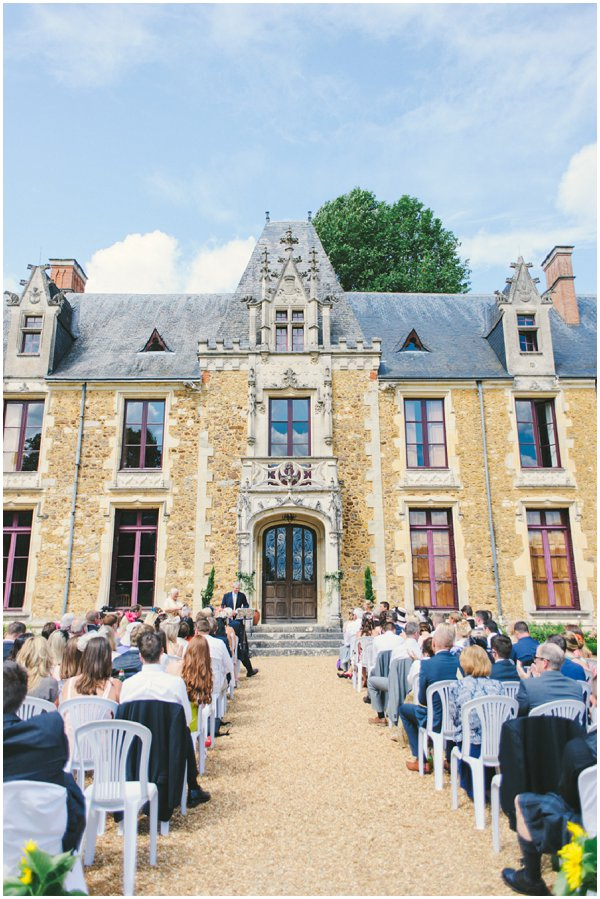 North France wedding chateau