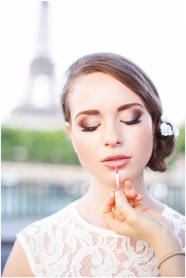 Wedding makeup Paris
