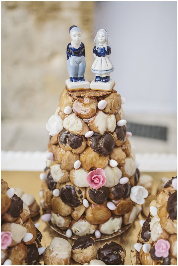 croquembouche tower