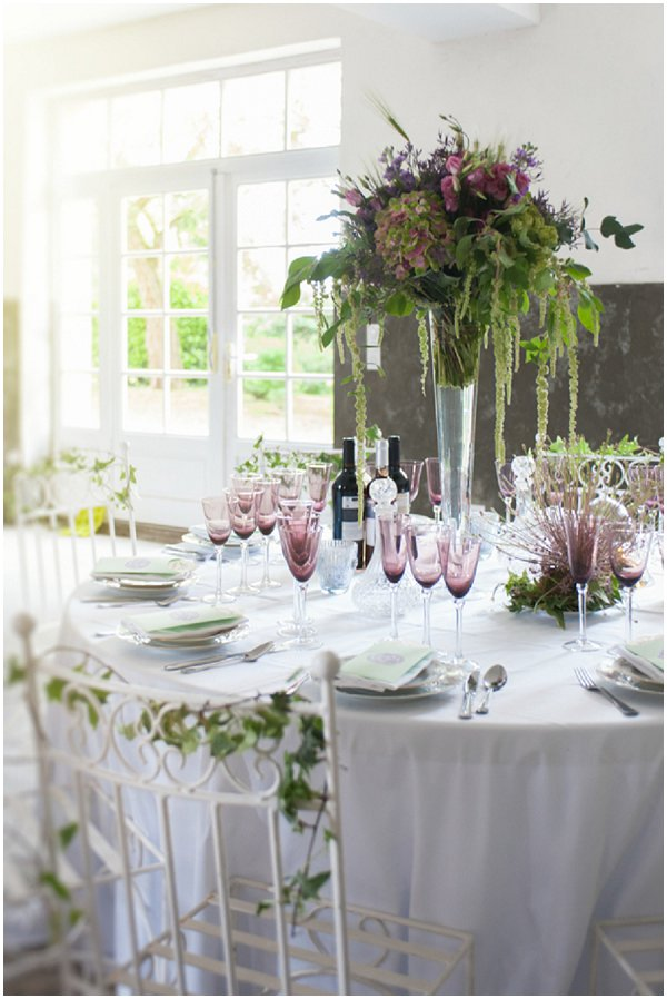 dramatic table centre ideas