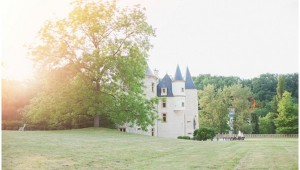 fairytale French castle