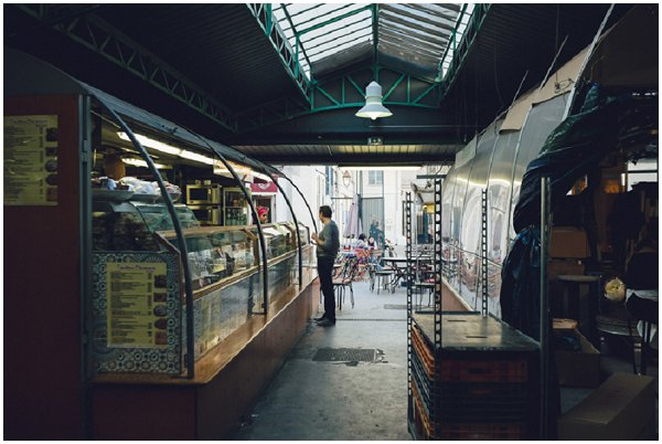 food hall in Paris