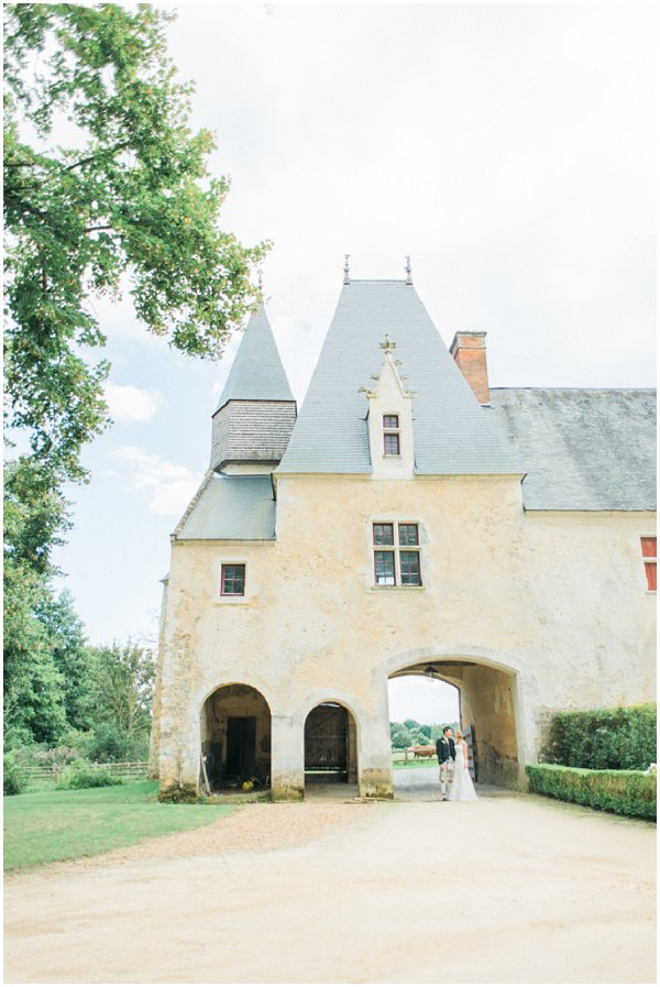 luxury wedding chateau