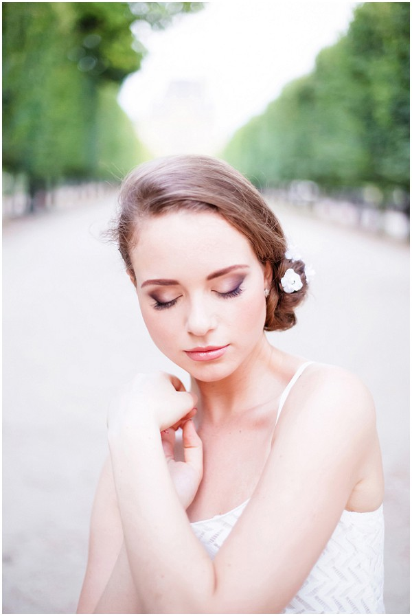 natural brides makeup