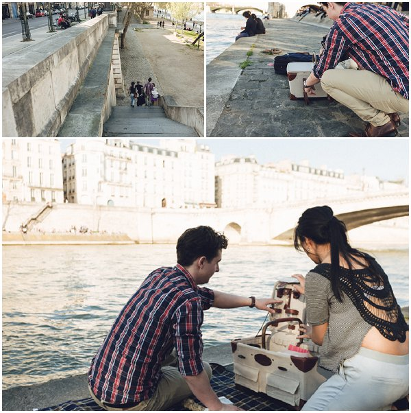 planning a picnic in Paris