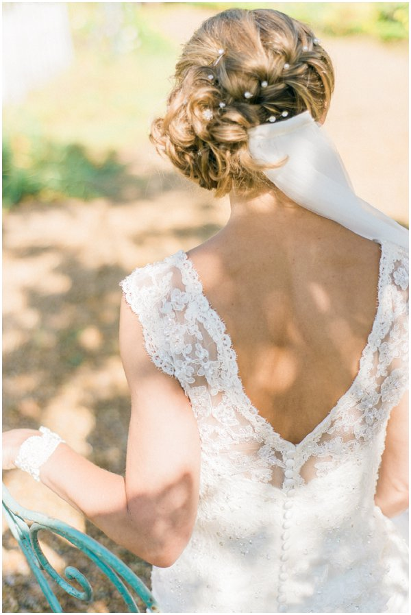 pretty updo for weddings