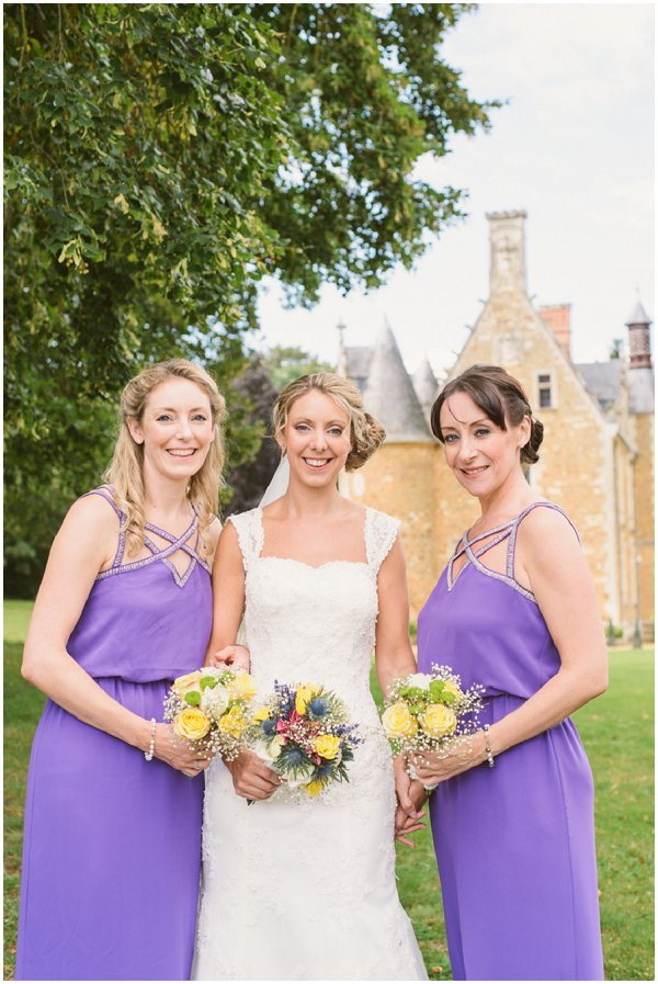 purple Coast bridesmaid dresses