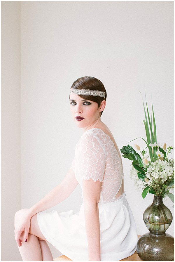 vintage inspired bridal style