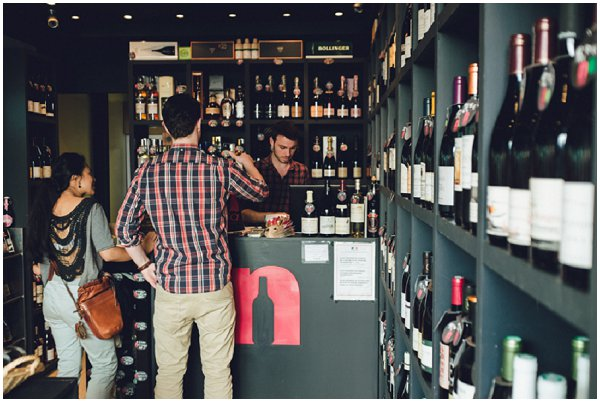 wine shops in Paris