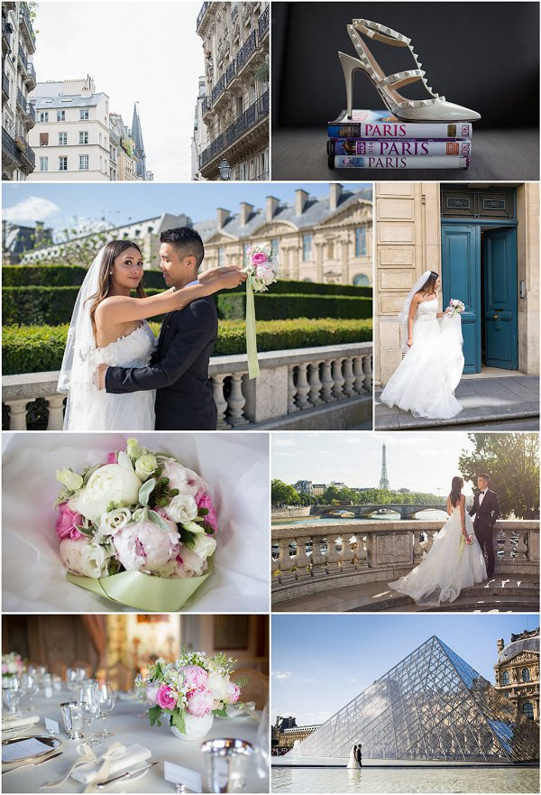Destination Wedding in Paris Snapshot