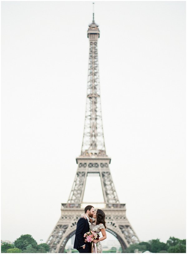 Eiffel Tower Anniversary Session