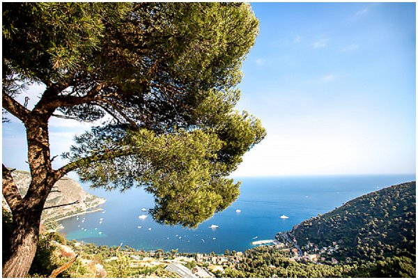 French Riviera coastline
