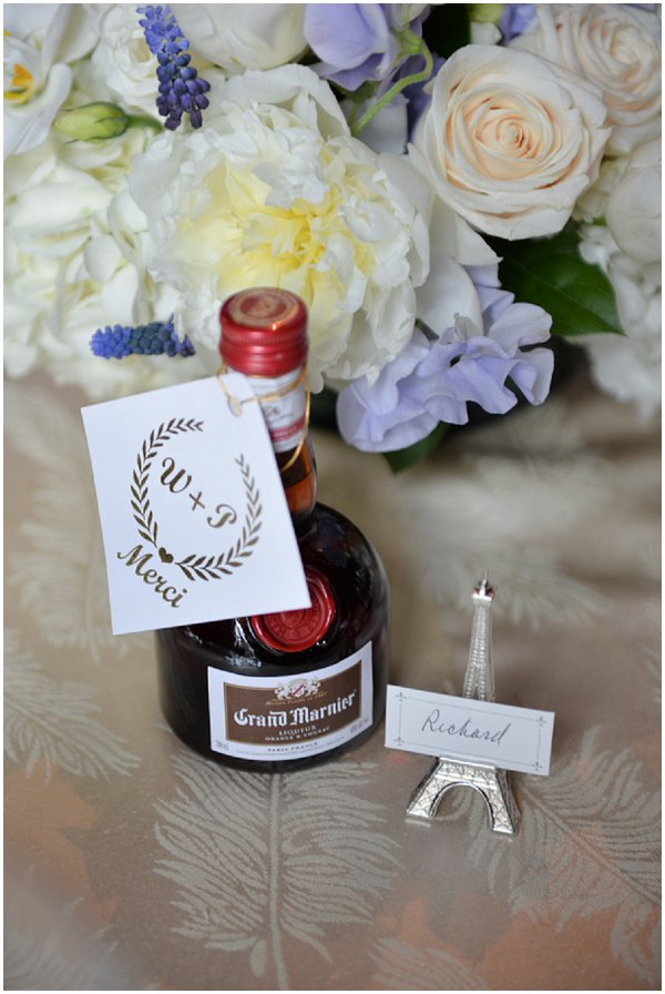 French Style wedding favors