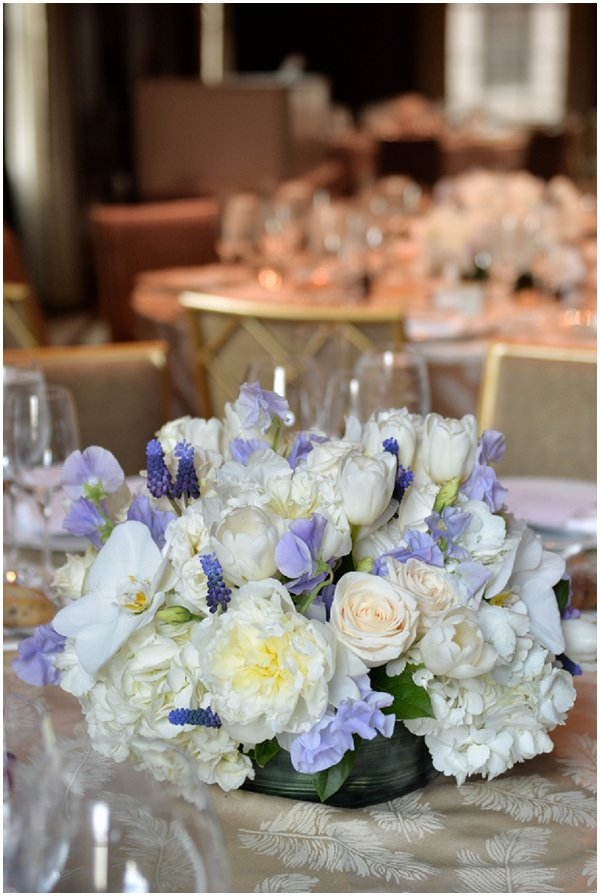 French Style wedding tables