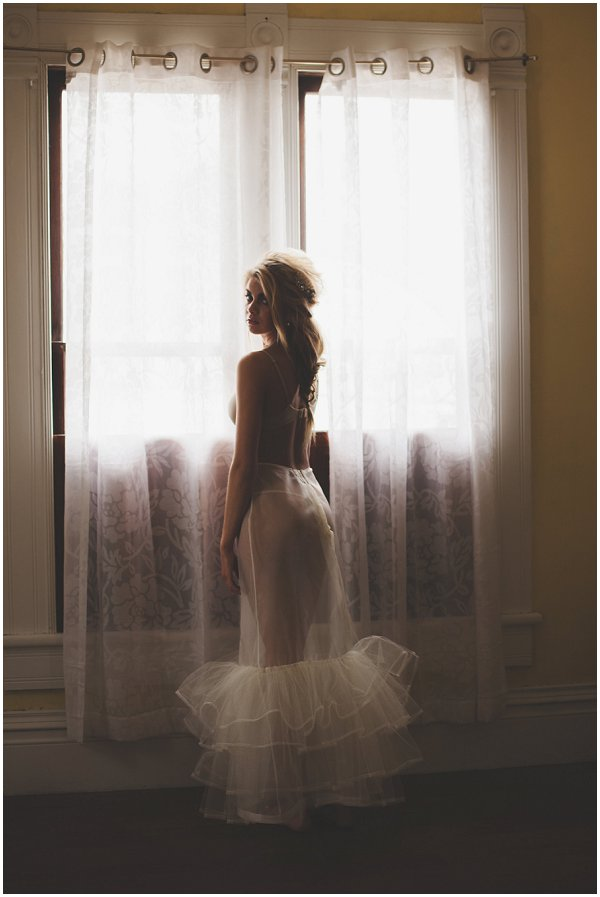 French bridal boudoir inspiration