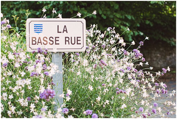 French road sign in Vendee