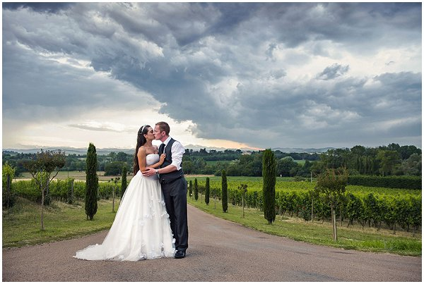 Wedding in Vineyards