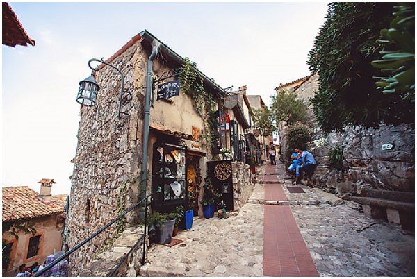 beautiful village of Eze in France