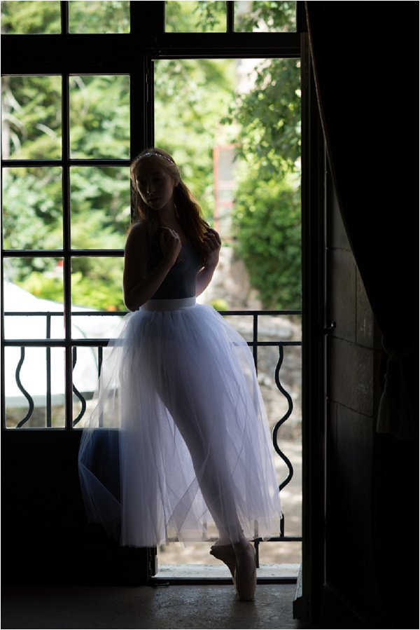 bridal photo shoot in France