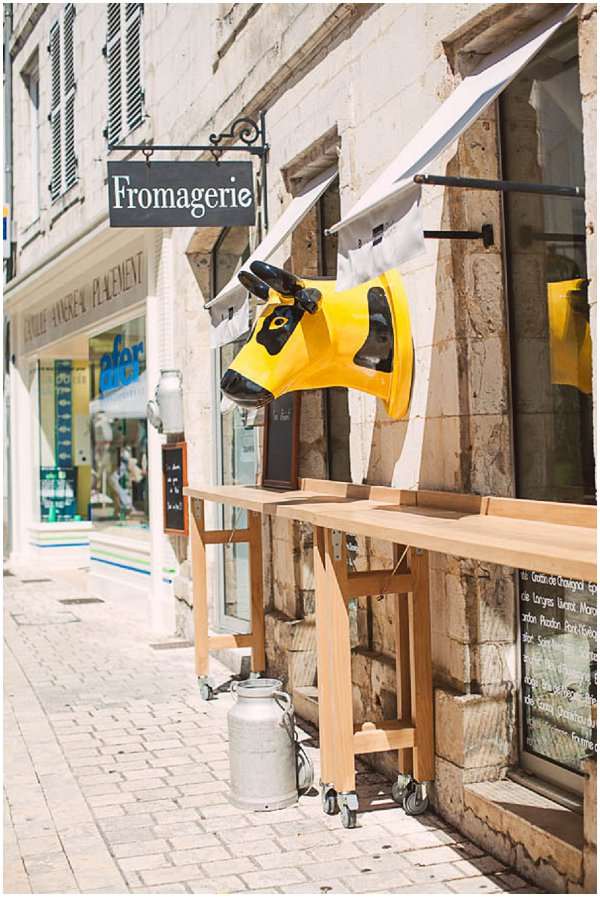 cheese shop in La Rochelle