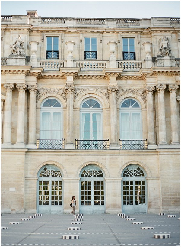courtyards of the Palais Royal
