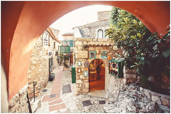 exploring Eze village