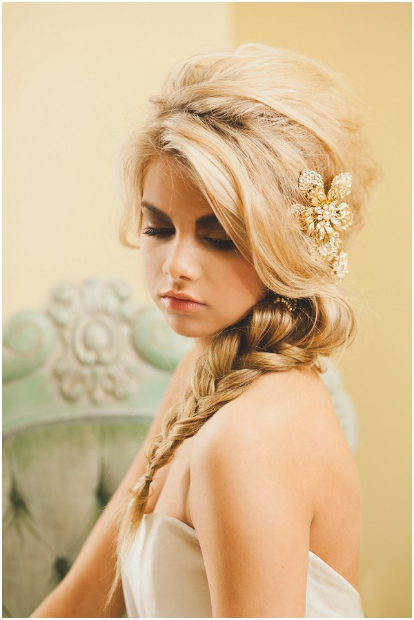 fishtail wedding day hair ideas