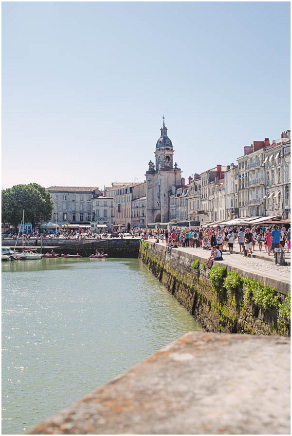 harbour in La Rochelle