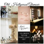 old Hollywood glamour style
